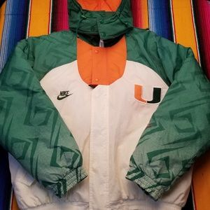 Nike Vintage Miami Hurricanes jacket